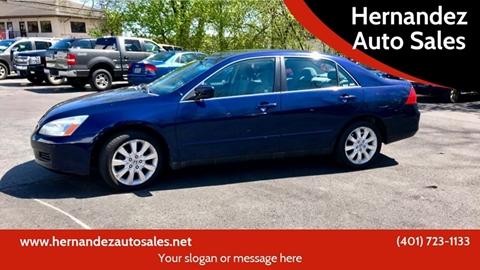 2007 Honda Accord for sale in Pawtucket, RI