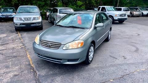 2003 Toyota Corolla for sale in Pawtucket, RI