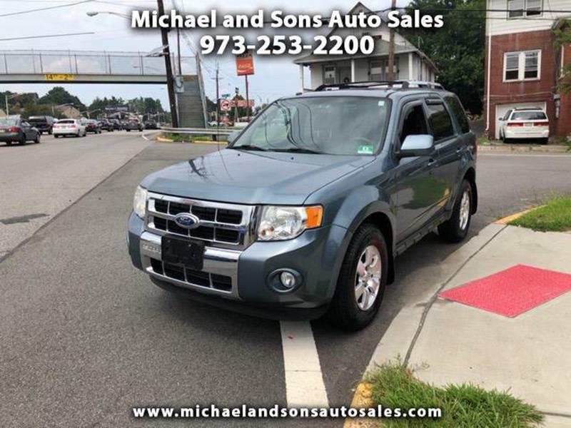 2010 Ford Escape For Sale >> 2010 Ford Escape Limited In Lodi Nj Michael And Sons Auto Sales