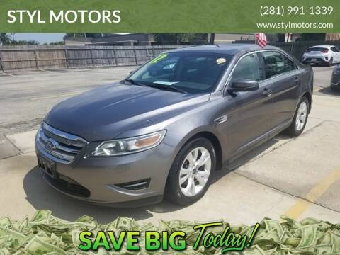 2012 Ford Taurus for sale in Pasadena, TX