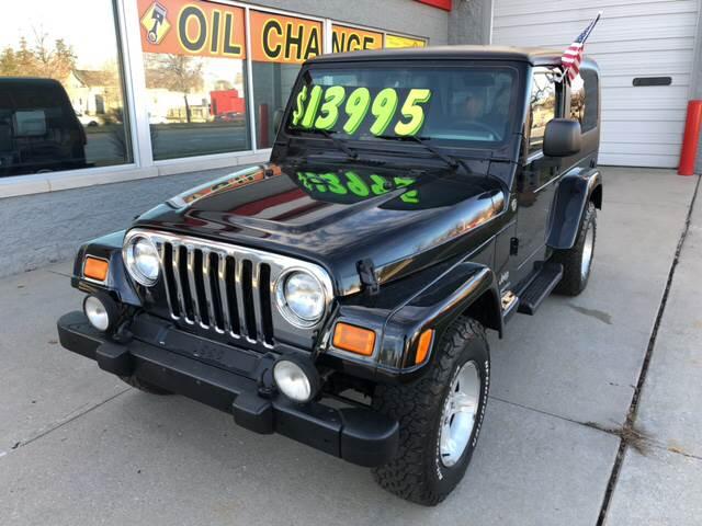 2006 Jeep Wrangler For Sale At Woodward Auto In Pontiac MI