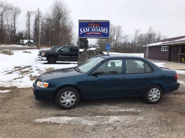2001 Toyota Corolla For Sale At Sam Adams Motors In Cedar Springs MI