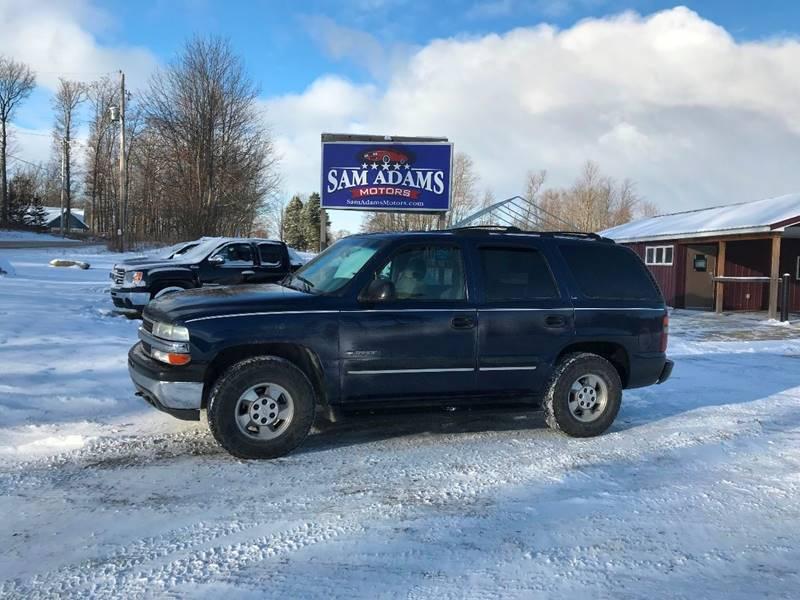2000 Chevrolet Tahoe Ls In Cedar Springs Mi Sam Adams Motors