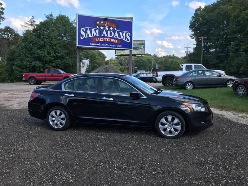 2008 Honda Accord For Sale At Sam Adams Motors In Cedar Springs MI