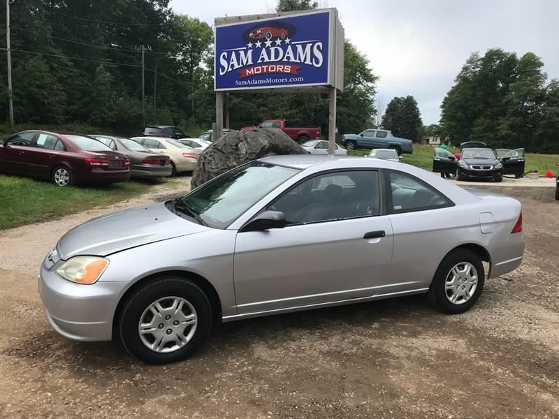 2001 Honda Civic For Sale At Sam Adams Motors In Cedar Springs MI