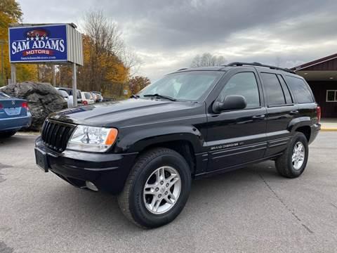 2000 Jeep Grand Cherokee for sale at Sam Adams Motors in Cedar Springs MI