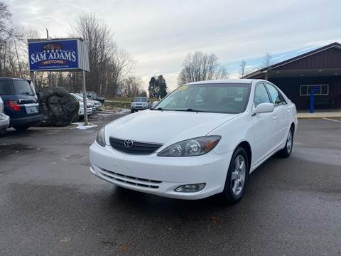 2002 Toyota Camry for sale at Sam Adams Motors in Cedar Springs MI