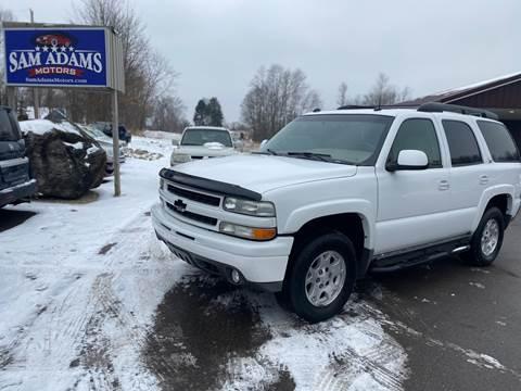 2004 Chevrolet Tahoe for sale at Sam Adams Motors in Cedar Springs MI