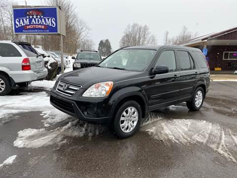 2006 Honda CR-V for sale at Sam Adams Motors in Cedar Springs MI