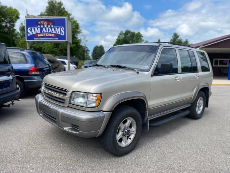 2000 Isuzu Trooper for sale at Sam Adams Motors in Cedar Springs MI