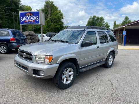 2003 Nissan Pathfinder for sale at Sam Adams Motors in Cedar Springs MI