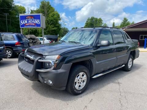 2005 Chevrolet Avalanche for sale at Sam Adams Motors in Cedar Springs MI