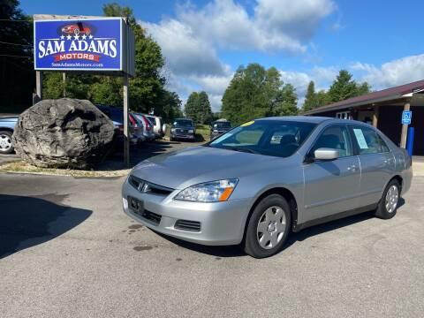 2007 Honda Accord for sale at Sam Adams Motors in Cedar Springs MI