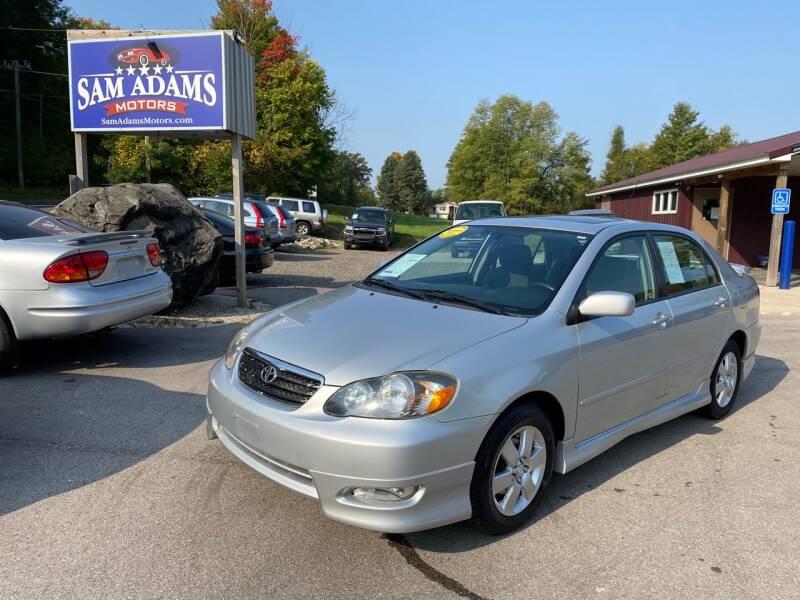 2008 Toyota Corolla for sale at Sam Adams Motors in Cedar Springs MI