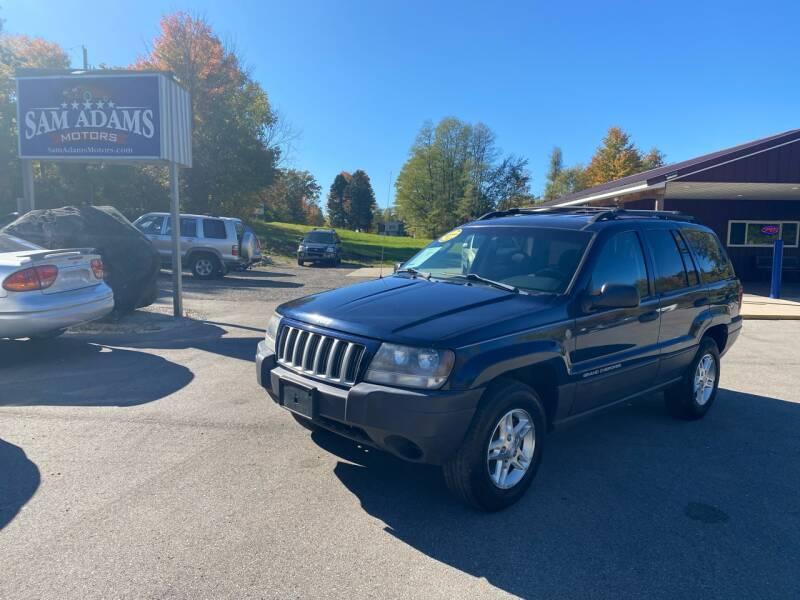 2004 Jeep Grand Cherokee for sale at Sam Adams Motors in Cedar Springs MI