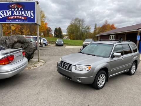 2007 Subaru Forester for sale at Sam Adams Motors in Cedar Springs MI