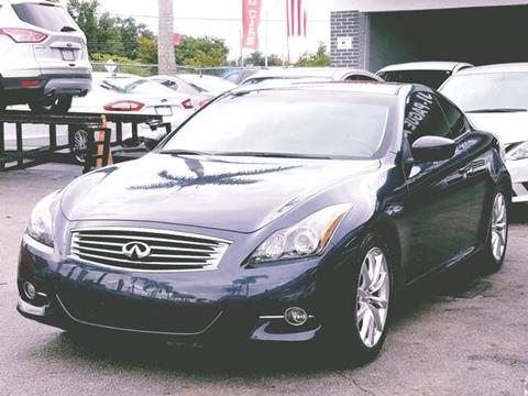 G37 Coupe For Sale >> 2013 Infiniti G37 Coupe For Sale In Miami Fl