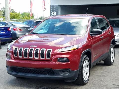 2014 Jeep Cherokee for sale in Miami, FL
