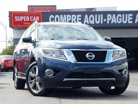 2015 Nissan Pathfinder for sale in Miami, FL