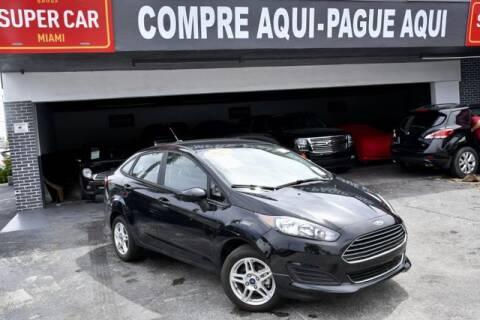 2019 Ford Fiesta for sale at Super Car Miami Group in Miami FL