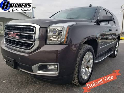 2016 GMC Yukon for sale in Campbellsville, KY