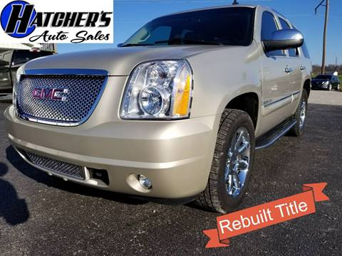 2013 GMC Yukon for sale at Hatcher's Auto Sales, LLC in Campbellsville KY
