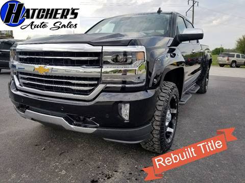 2016 Chevrolet Silverado 1500 for sale at Hatcher's Auto Sales, LLC in Campbellsville KY