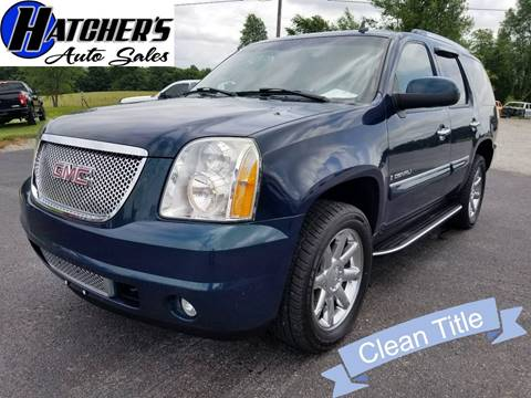 2007 GMC Yukon for sale at Hatcher's Auto Sales, LLC in Campbellsville KY