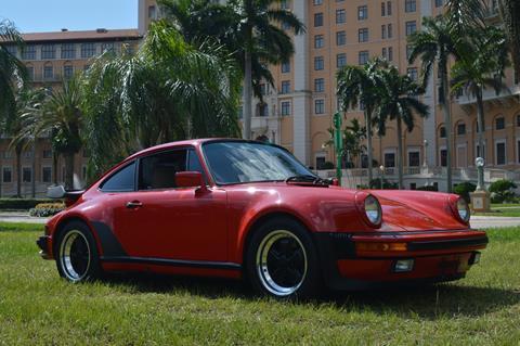 1986 Porsche 911 Carrera Turbo for sale at Vertex Automotive in Miami FL