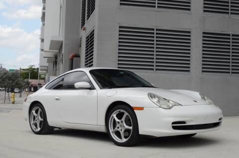 2002 Porsche 911 Carrera for sale at Vertex Automotive in Miami FL