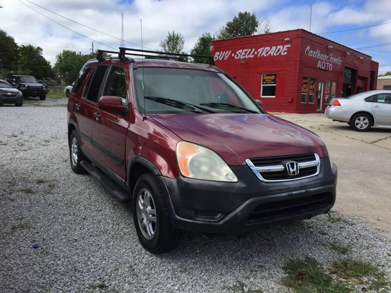 2004 Honda CR V For Sale At Carthage Family Auto In Carthage MO