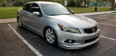 2008 Honda Accord for sale at Fort Lauderdale Auto Sales in Fort Lauderdale FL