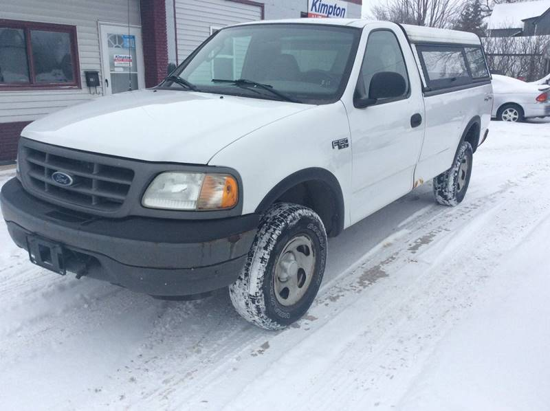 2003 Ford F-150 for sale at Kimpton Auto Sales in Wells MN