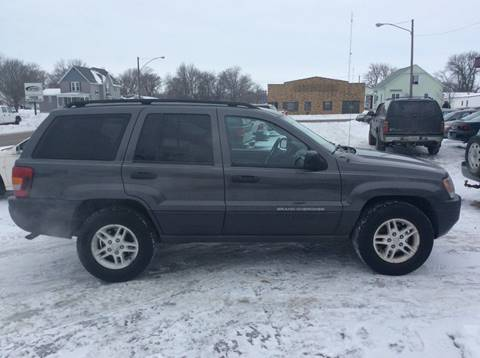 2004 Jeep Grand Cherokee for sale at Kimpton Auto Sales in Wells MN
