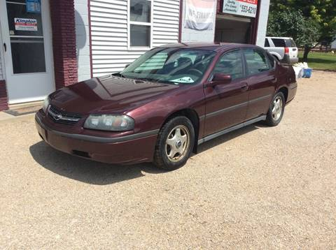 2003 Chevrolet Impala for sale at Kimpton Auto Sales in Wells MN