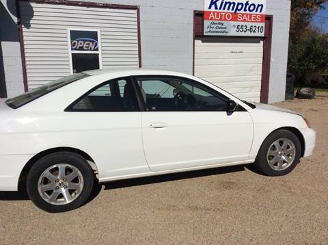 2002 Honda Civic for sale in Wells, MN