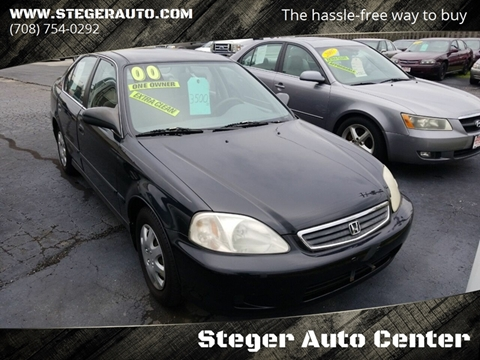 2000 Honda Civic for sale in Steger, IL