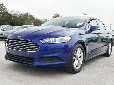 2013 Ford Fusion For Sale At JOSE @ American Cars Approved In Seminole FL