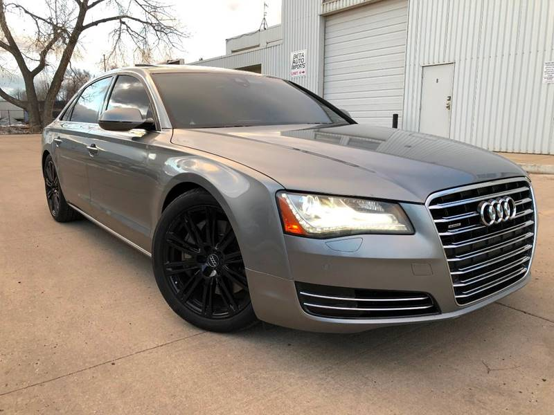 2012 Audi A8 L for sale at Zapp Motors in Englewood CO