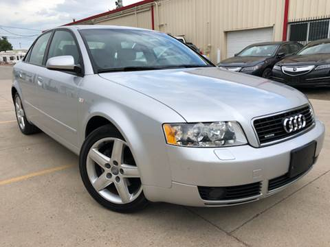 2004 Audi A4 for sale at Zapp Motors in Englewood CO