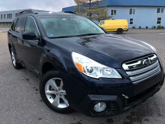 2013 Subaru Outback for sale at Zapp Motors in Englewood CO