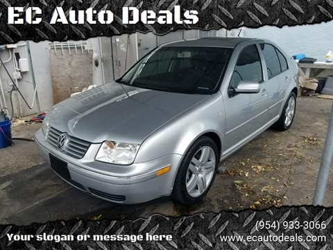 2004 Volkswagen Jetta for sale in Pompano Beach, FL