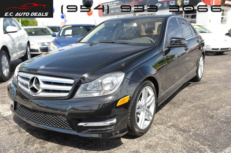 2013 Mercedes Benz C Class For Sale At EC Auto Deals In Pompano Beach