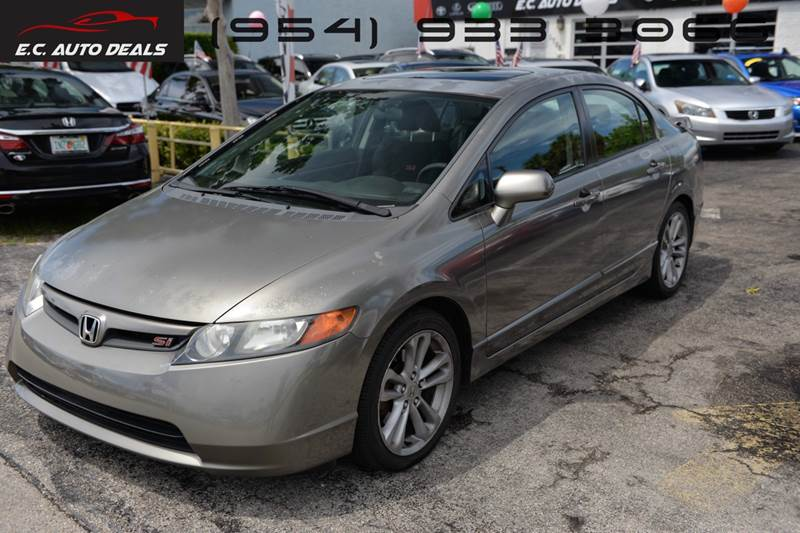 2007 Honda Civic For Sale At EC Auto Deals In Pompano Beach FL