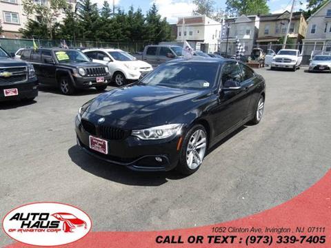 2016 BMW 4 Series for sale in Irvington, NJ