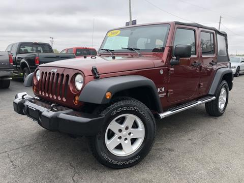 2009 Jeep Wrangler Unlimited for sale in Chenoa, IL