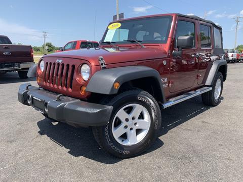 2009 Jeep Wrangler Unlimited for sale in Chenoa, IL