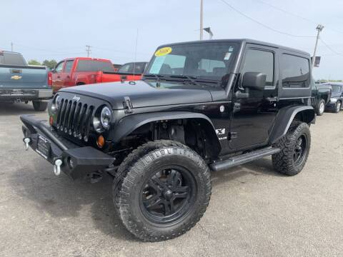 2008 Jeep Wrangler for sale at Superior Auto Mall of Chenoa in Chenoa IL