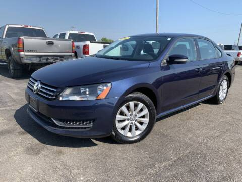 2013 Volkswagen Passat for sale at Superior Auto Mall of Chenoa in Chenoa IL