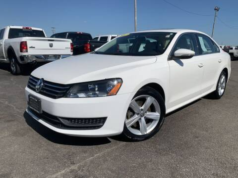 2012 Volkswagen Passat for sale at Superior Auto Mall of Chenoa in Chenoa IL